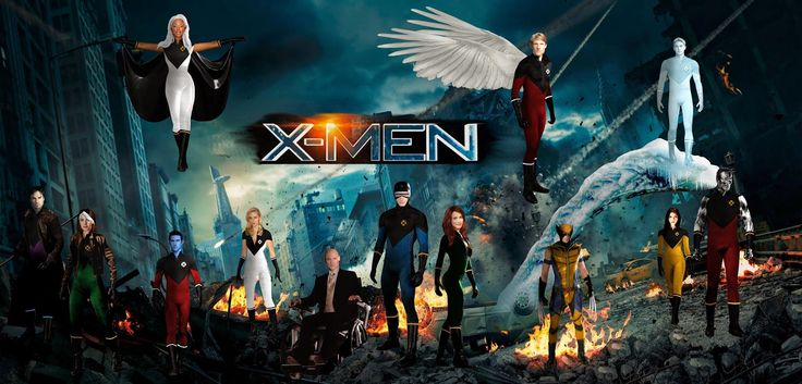 X-men complete series All parts (10 Movies - 2018