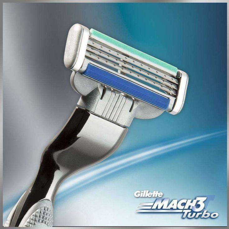 Gillette Mach3. Estilazo de finales de los 90.