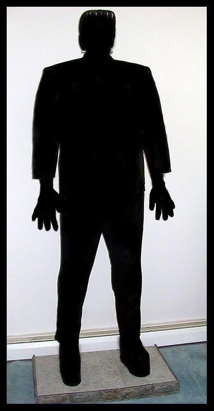 Frankenstein SilhouetteFrankenstein Head Silhouette