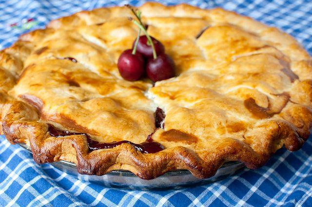 fresh cherry pie | Let Them Eat Cake | Pinterest