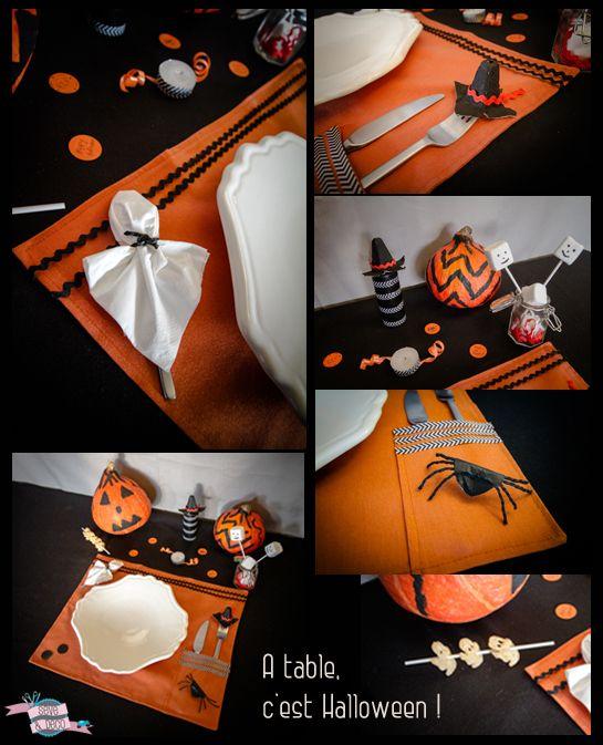 table pour Halloween www.sevedeco.com #diy #handmade #toulouse #deco ...