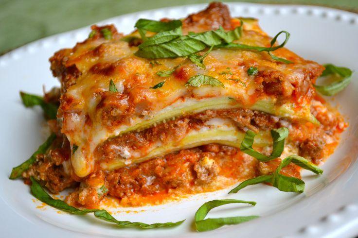Zucchini Lasagna. | healthy recipes | Pinterest