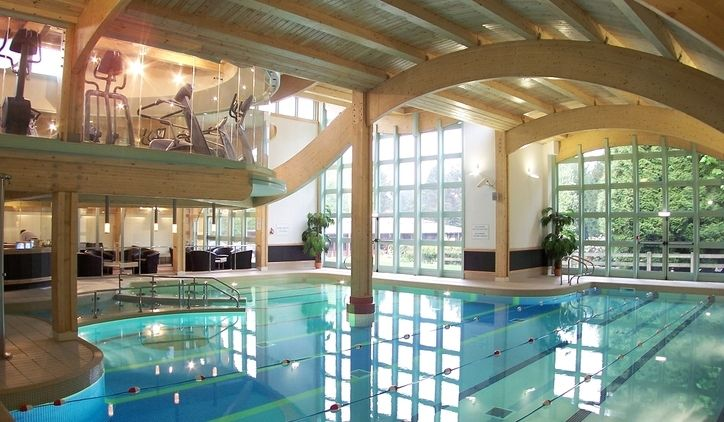 Pin by water on pool pinterest for Indoor pool design uk