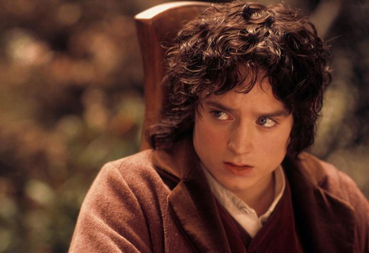Elijah wood in lotr as frodo baggins frodo baggins for Pics of frodo baggins