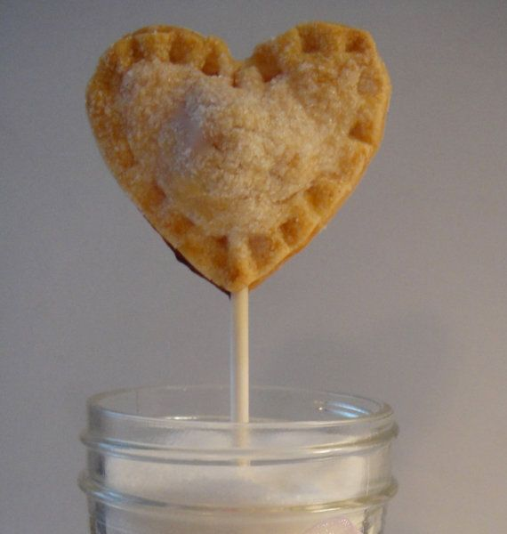 heart shaped pie pops Wedding