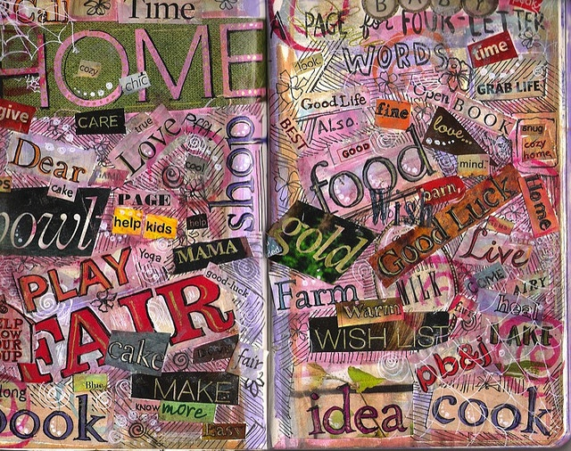 4 letter words - love this idea! by kellypuffs on Flickr