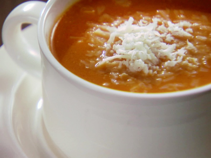 Chuck Hughes - Creamy Tomato Soup from CookingChannelTV.com