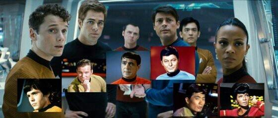 Star Trek Crew