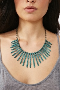 Liberty Spike Necklace  $25.35