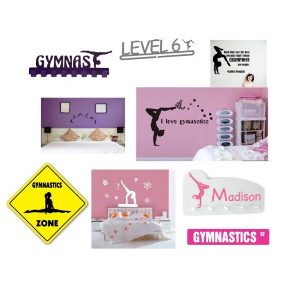 Pin by gymnastics hq on gymnastics gifts pinterest for Room decor gifts