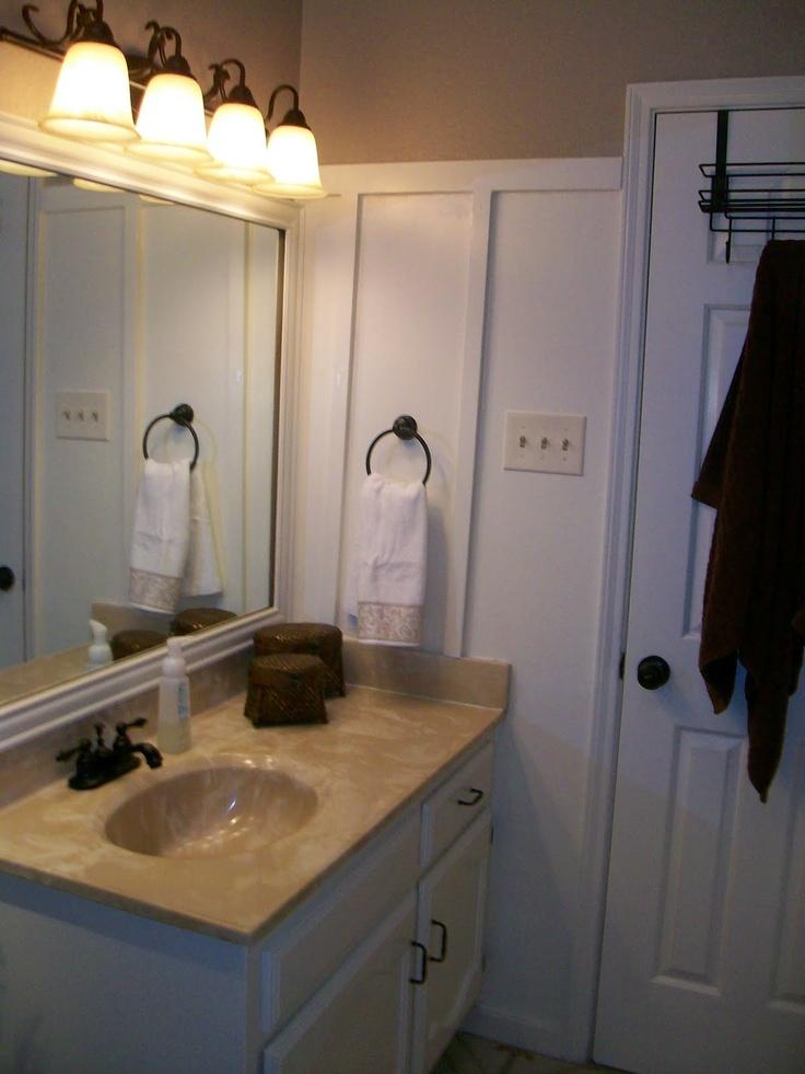 board and batten on bathroom bathroom pinterest. Black Bedroom Furniture Sets. Home Design Ideas