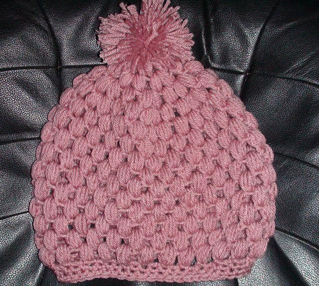 Crochet Hat Pattern With Puff Stitch : Puff Stitch Crochet Hat pattern by Teresa Richardson
