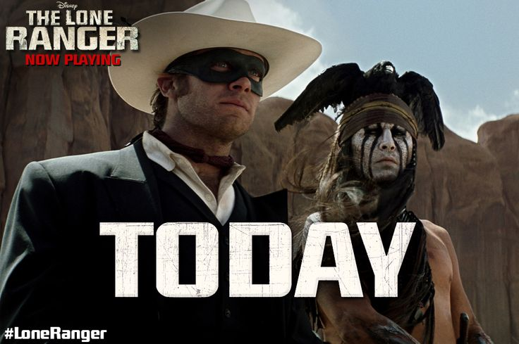 The Lone Ranger is now in theaters! Click to get tickets. http://di.sn ...