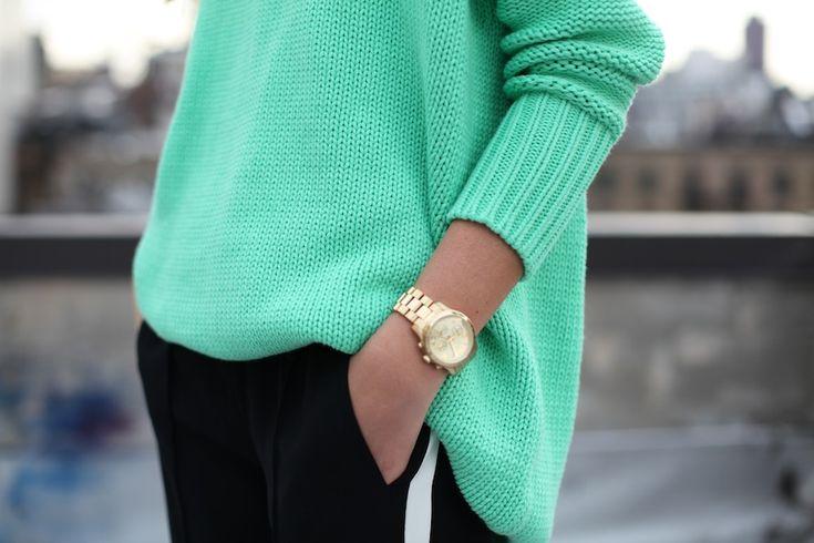 Mint knit