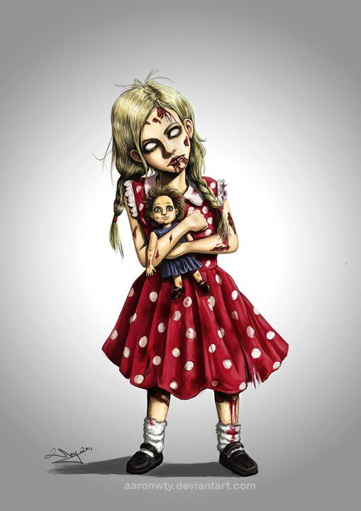 Zombie Little Girl Tattoo Little girl zombie | W...