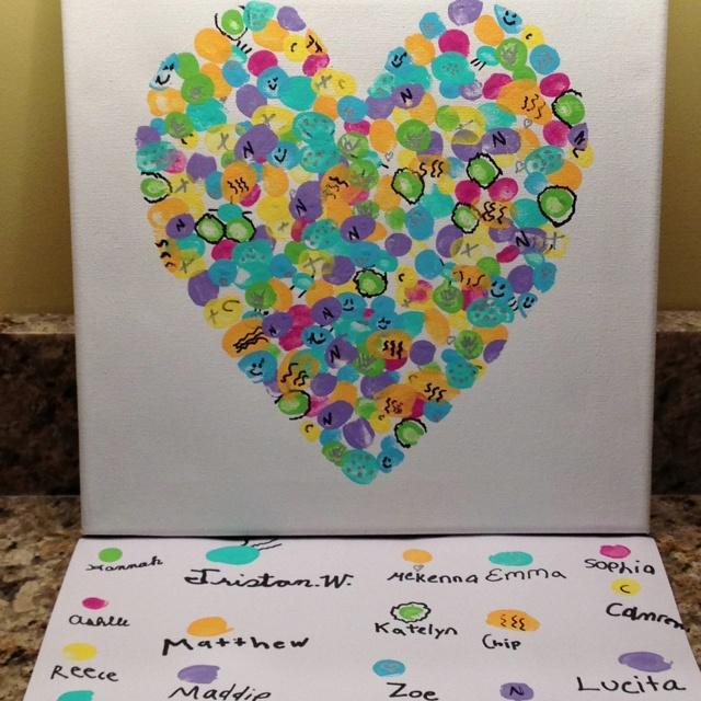 Classroom Art Ideas : We did it class art project school auction