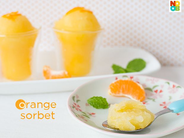 Orange Sorbet Recipe Now this is some thing to try as soon as it gets ...