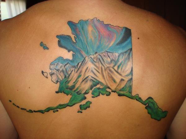Alaska tattoo ideas pinterest for Tattoo of ak