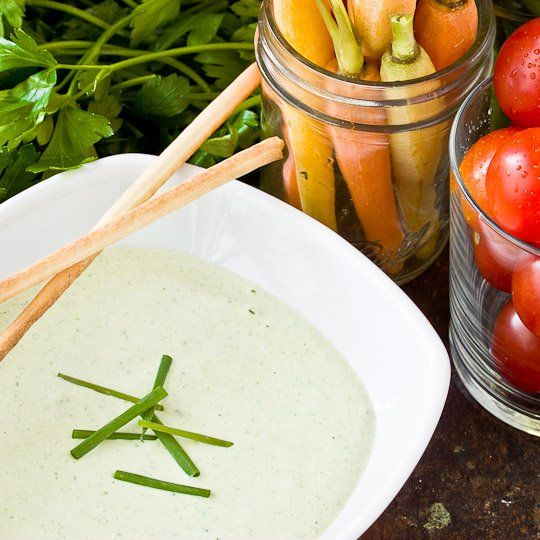 Green Goddess Dip | Recipes | Pinterest