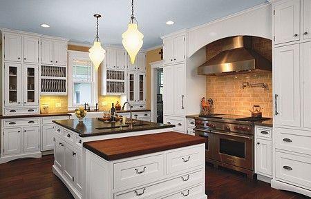 kitchen + island