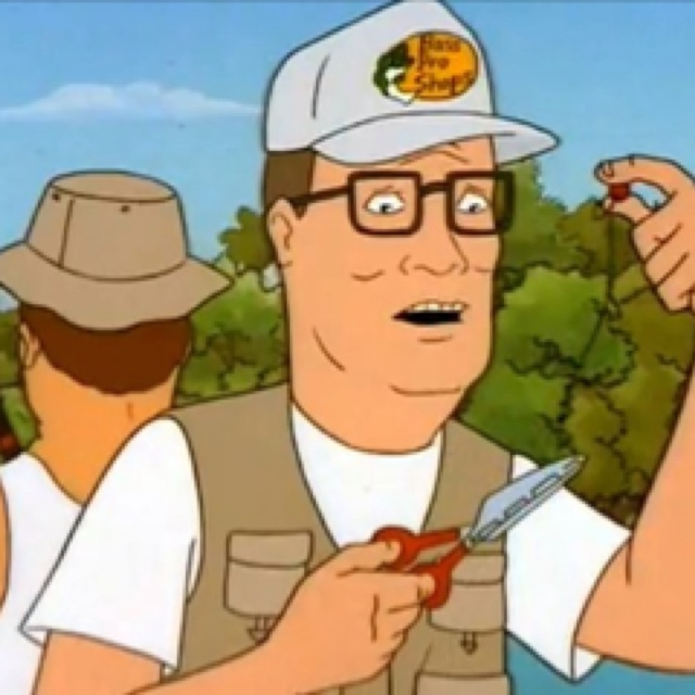 What great Hank hill naked