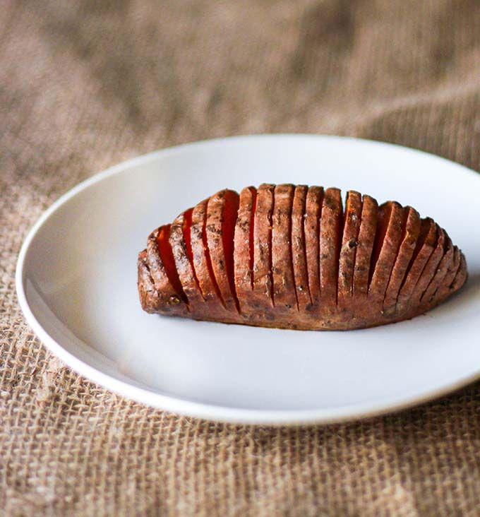 Hasselback Sweet Potatoes | Side Dishes | Pinterest