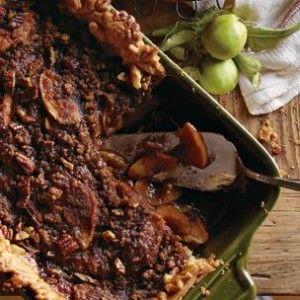 Deep-Dish Apple Bourbon Streusel Pie | Baking | Pinterest