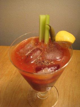 Horseradish Vodka Bloody Mary Recipe — Dishmaps