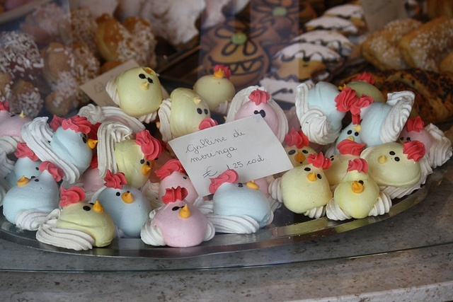 Spring Easter Meringues Recipe — Dishmaps