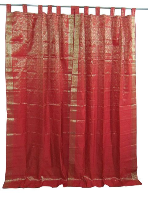 How To Make Back Tab Curtains Moroccan Curtains and D