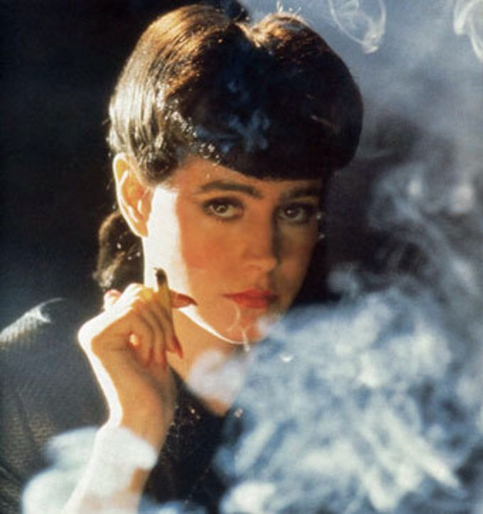 Sean Young, Blade Runner, 1982.