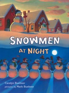 snowmen at night digital book