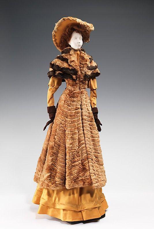 1903 Кукла Канадой Furs (металл, гипс, мех, шелк, кожа, волосы), 1949.  ММА