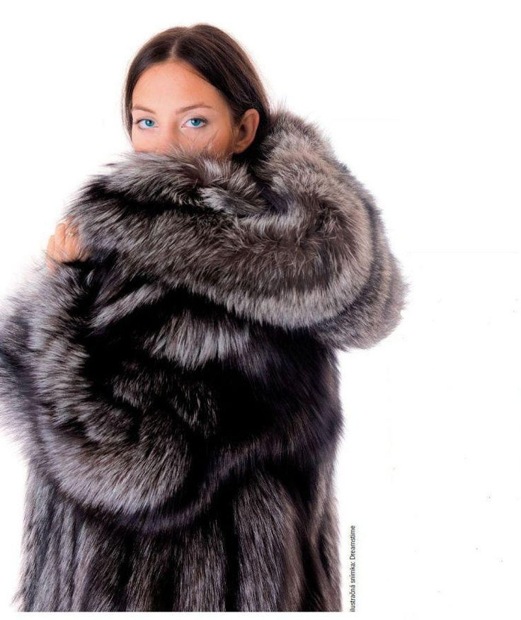 Hooded Silver Fox Fur Vest | Homewood Mountain Ski Resort