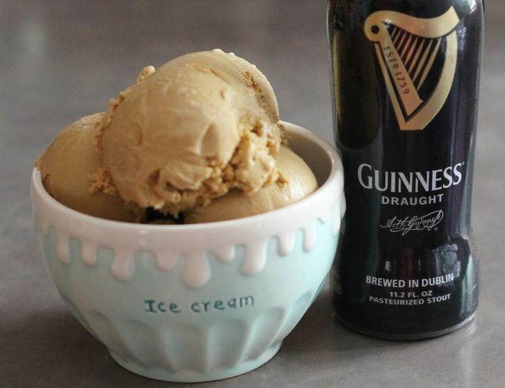 Guinness Ice Cream   St. Patrick's Day   Pinterest