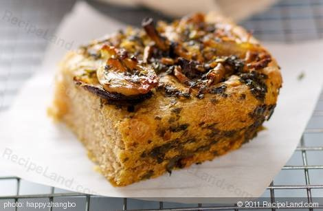 Caramelized Shallots, Basil-Olive Oil and Goat Cheese Bread | Recipe