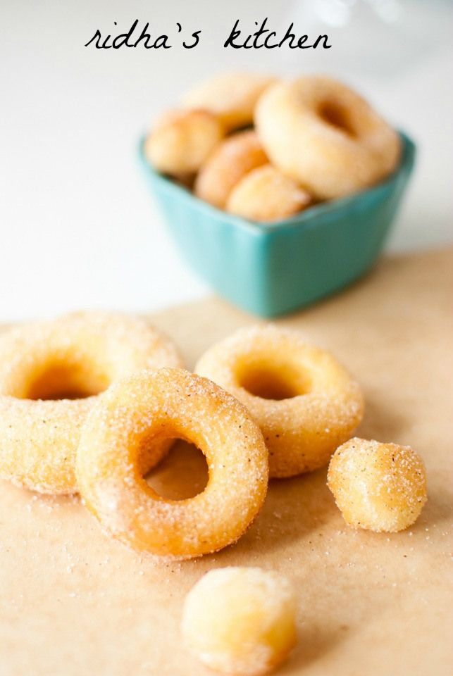 Potato Doughnuts | seasonal november | Pinterest
