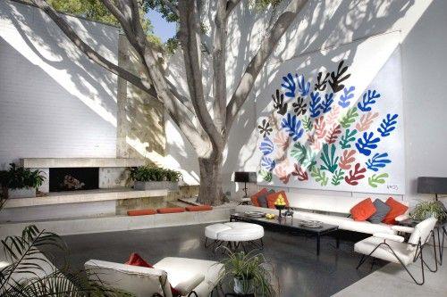 Brody House - Architecture by A. Quincy Jones, Landscape by Garrett Eckbo