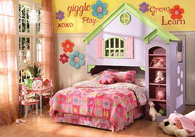 Cute ideas for girls rooms Things for the kiddos