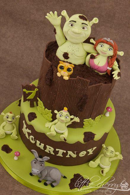 Cake Design Creator : Shrek Cake Cakes Part 2 Pinterest