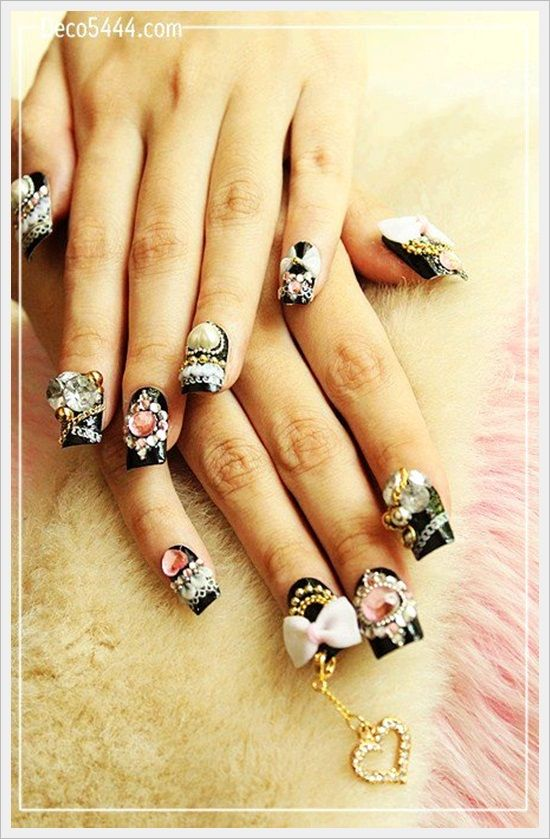 Nail Designs Jewelry | Nail Art Designs