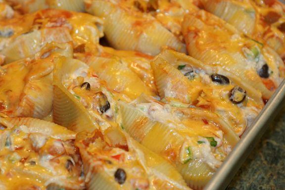 Mexican Chicken Stuffed Shells