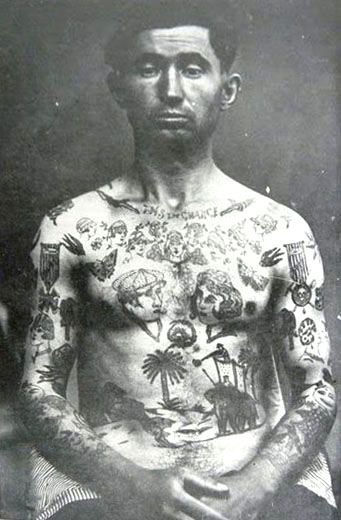19th century french criminal tattoos sailor 39 s tattoos for 19th century tattoos