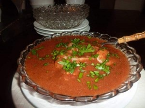 Shrimp Gazpacho | Yummy, Healthy Foods | Pinterest