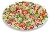Arugula Corn Salad with Bacon Recipe | love | Pinterest