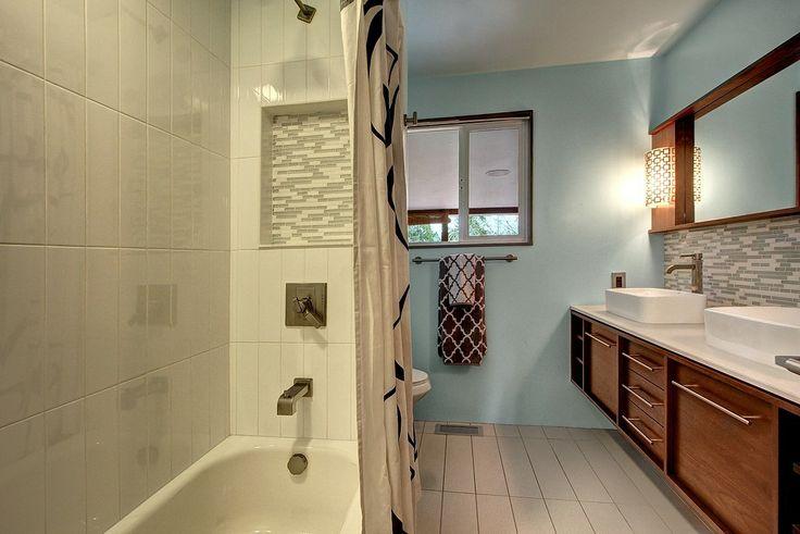 Mid Century Modern Bathroom Remodel Pinterest