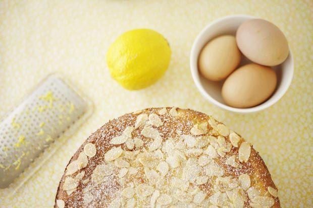 Flourless Lemon Almond & Ricotta Cake | She Sows Seeds