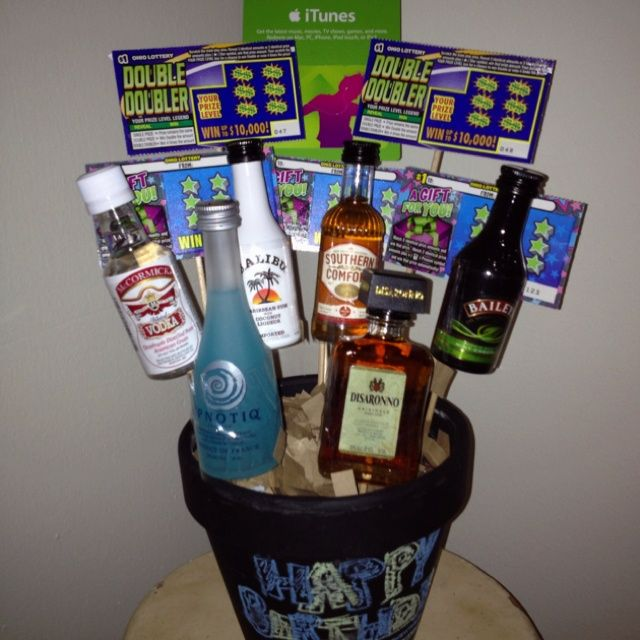 Birthday Gift Baskets In San Diego : Th birthday ideas gifts liquor