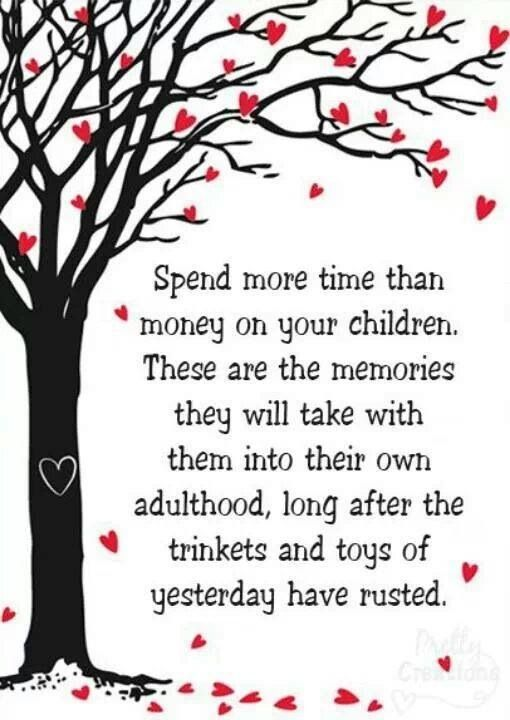 parent should spend more time with their children This compares unfavorably with 82 hours for their parents when they were  children  real benefits to outdoor play that children could be missing out on   getting children to spend more time outdoors is essential if we are to.