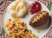Cheese-Stuffed Mini Meat Loaves Recipe from Betty Crocker   Easy ...